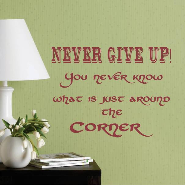 never_give_up_wall