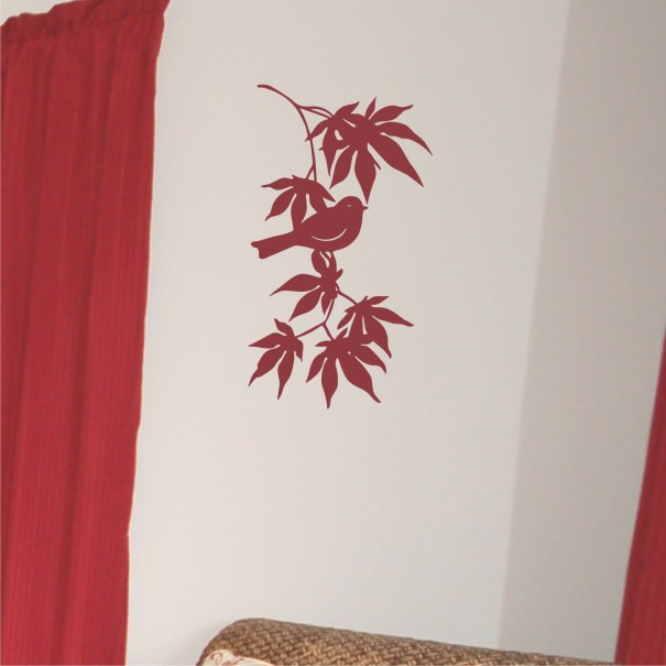 japanese_maple_with_bird-red